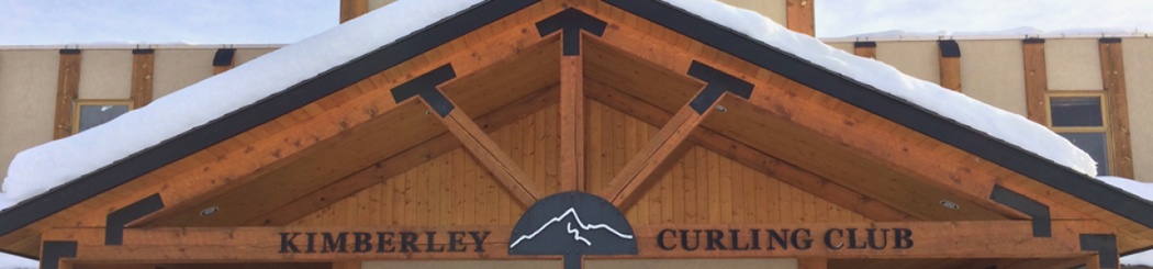 Kimberley Curling Club banner